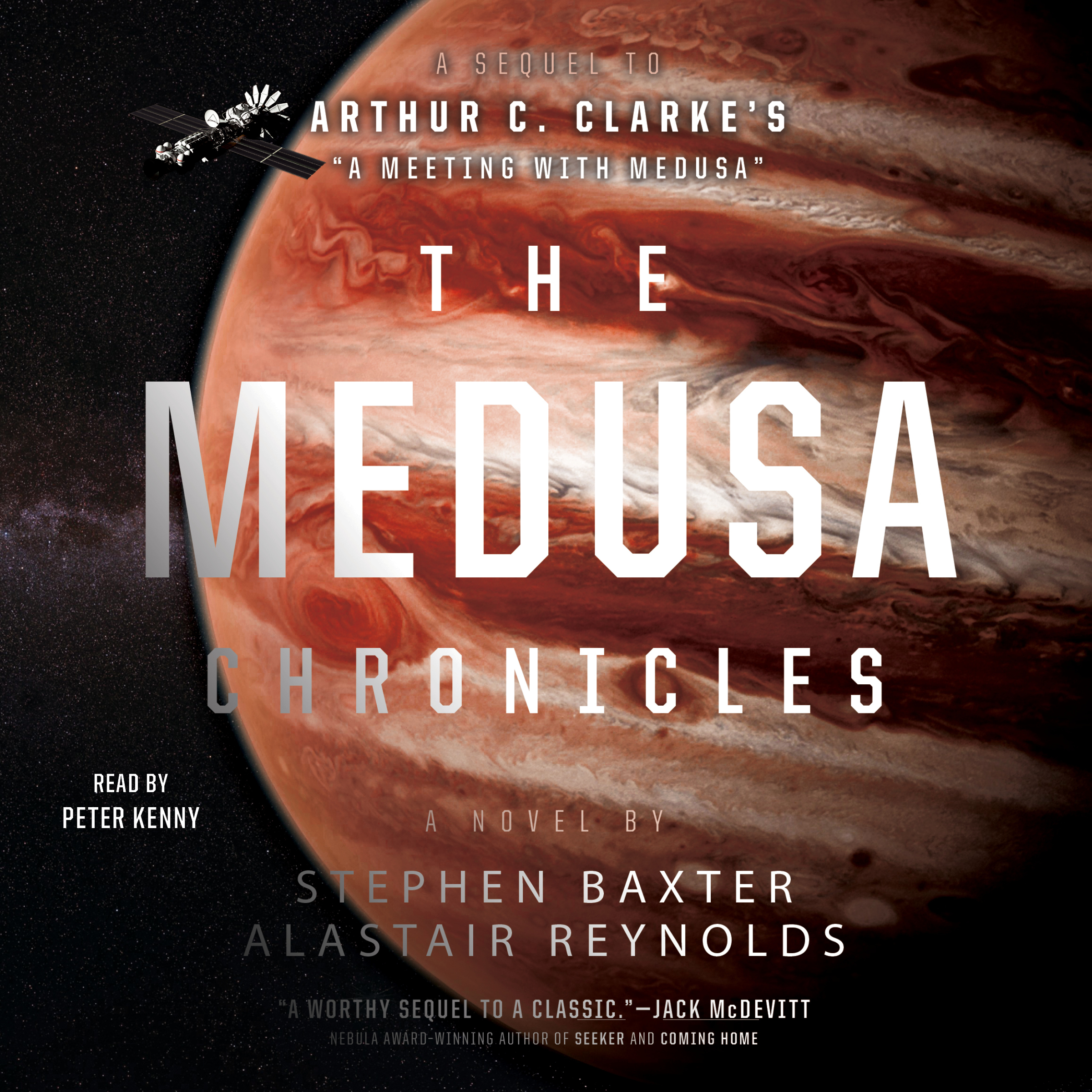 Printable The Medusa Chronicles Audiobook Cover Art