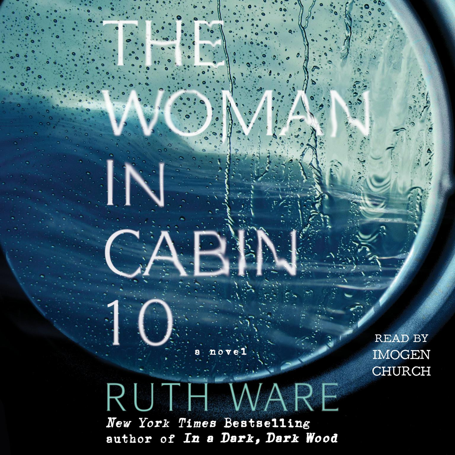 Printable The Woman in Cabin 10 Audiobook Cover Art
