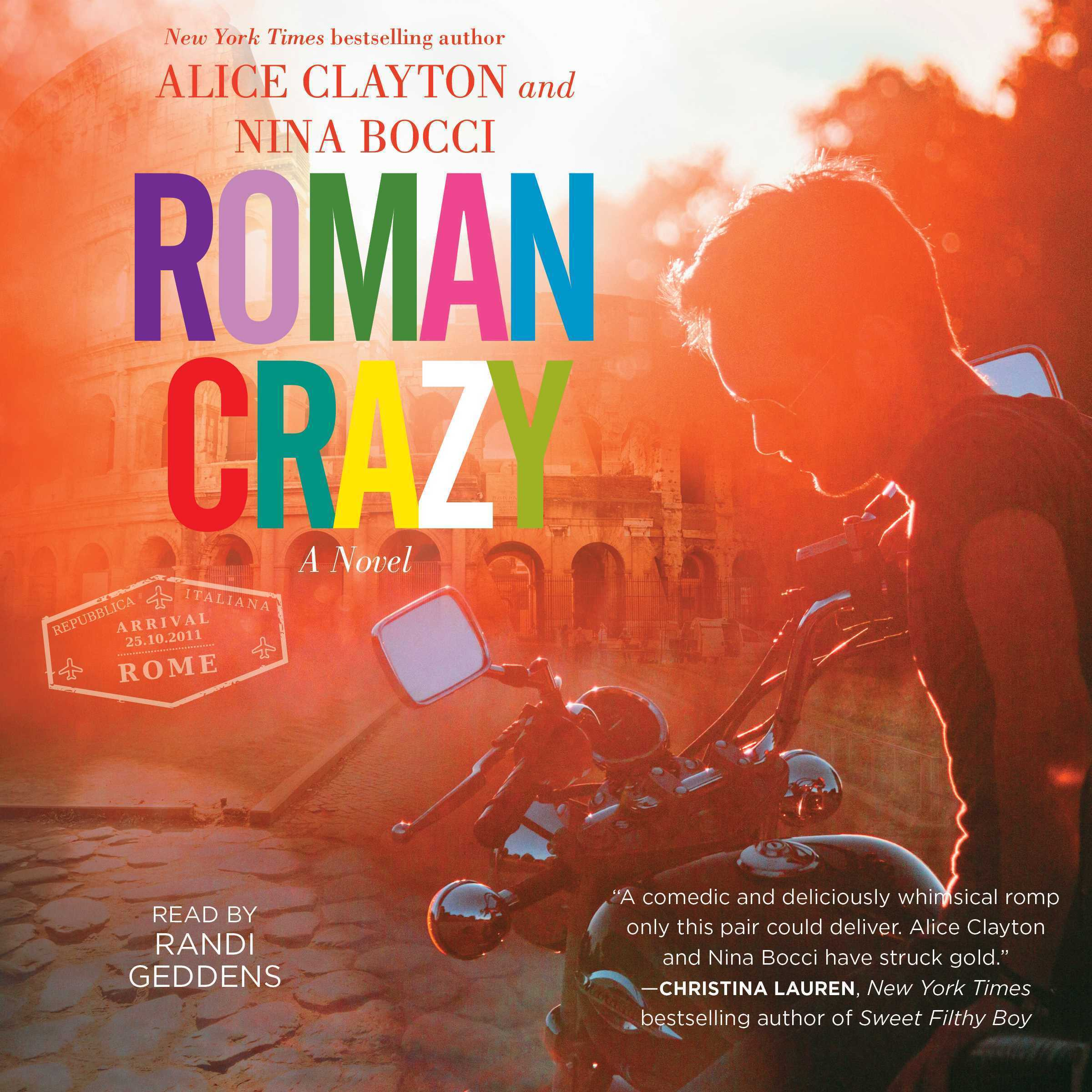 Printable Roman Crazy Audiobook Cover Art