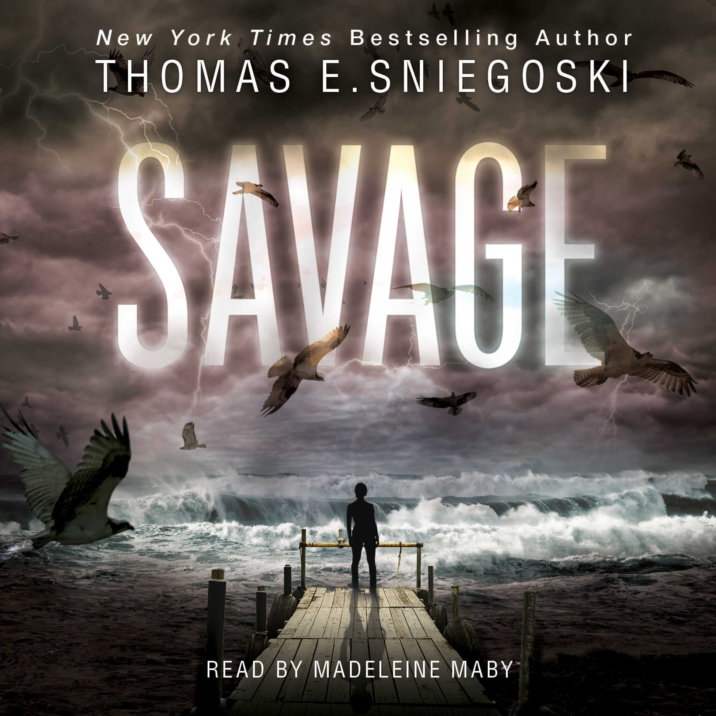 Printable Savage Audiobook Cover Art