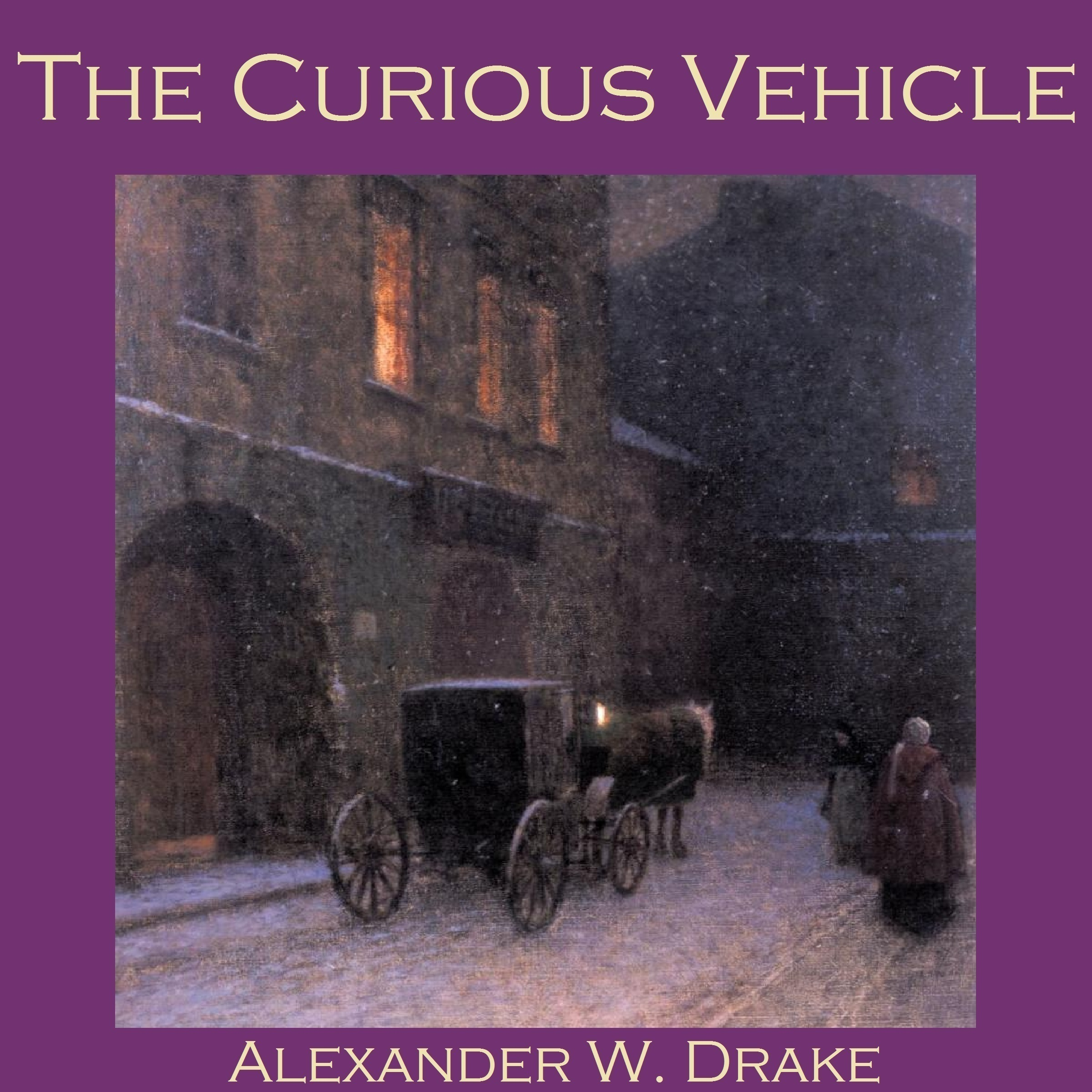 Printable The Curious Vehicle Audiobook Cover Art