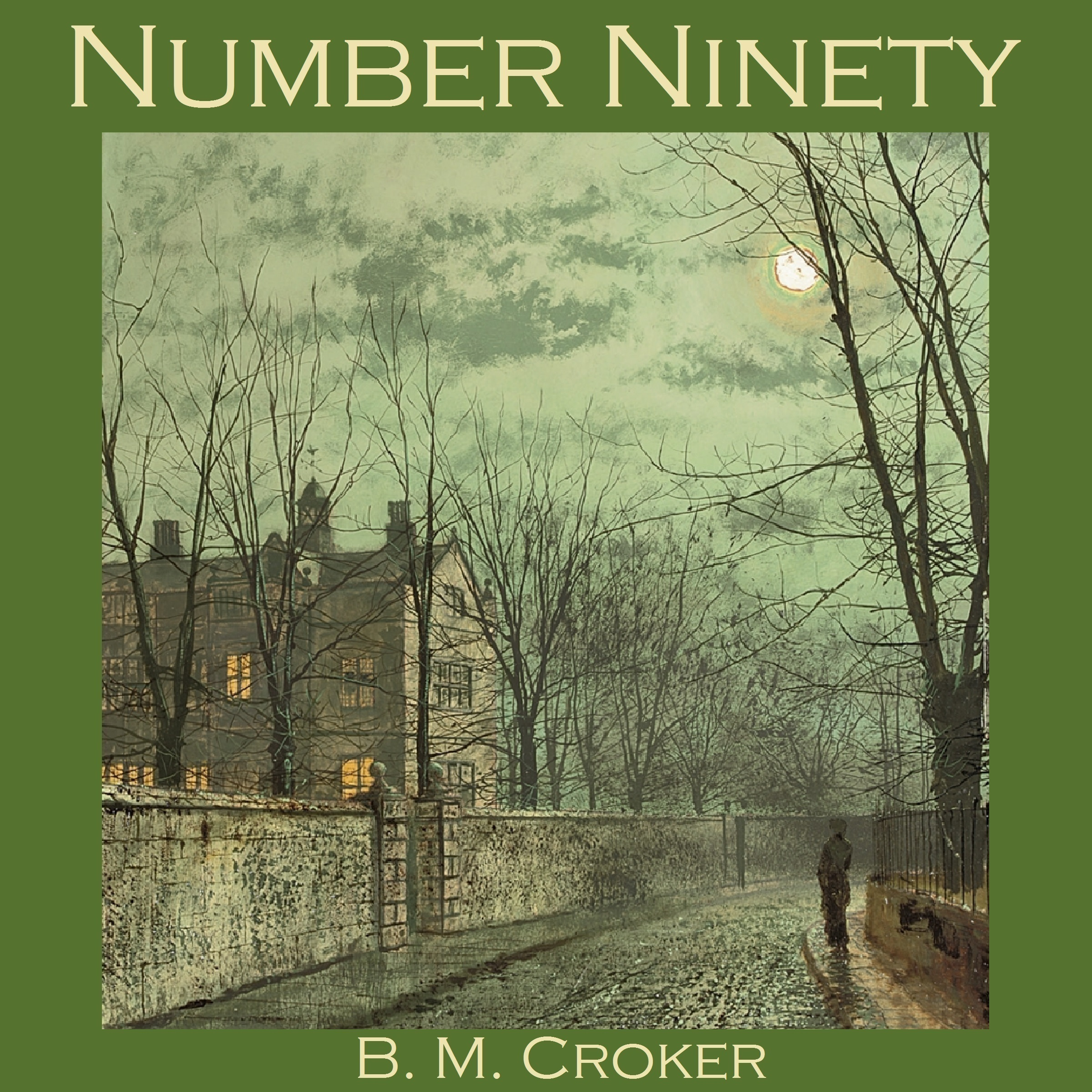 Printable Number Ninety Audiobook Cover Art