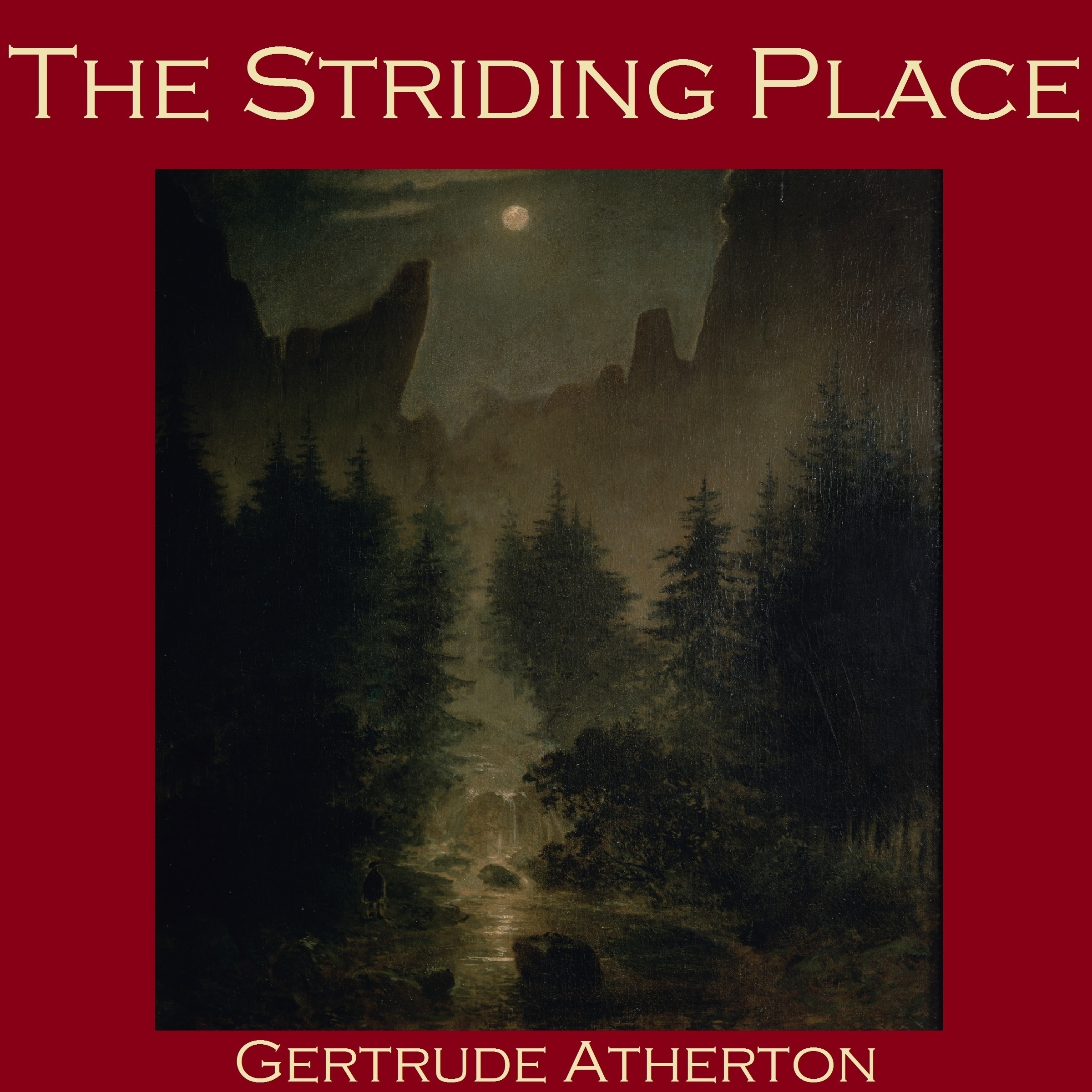 Printable The Striding Place Audiobook Cover Art