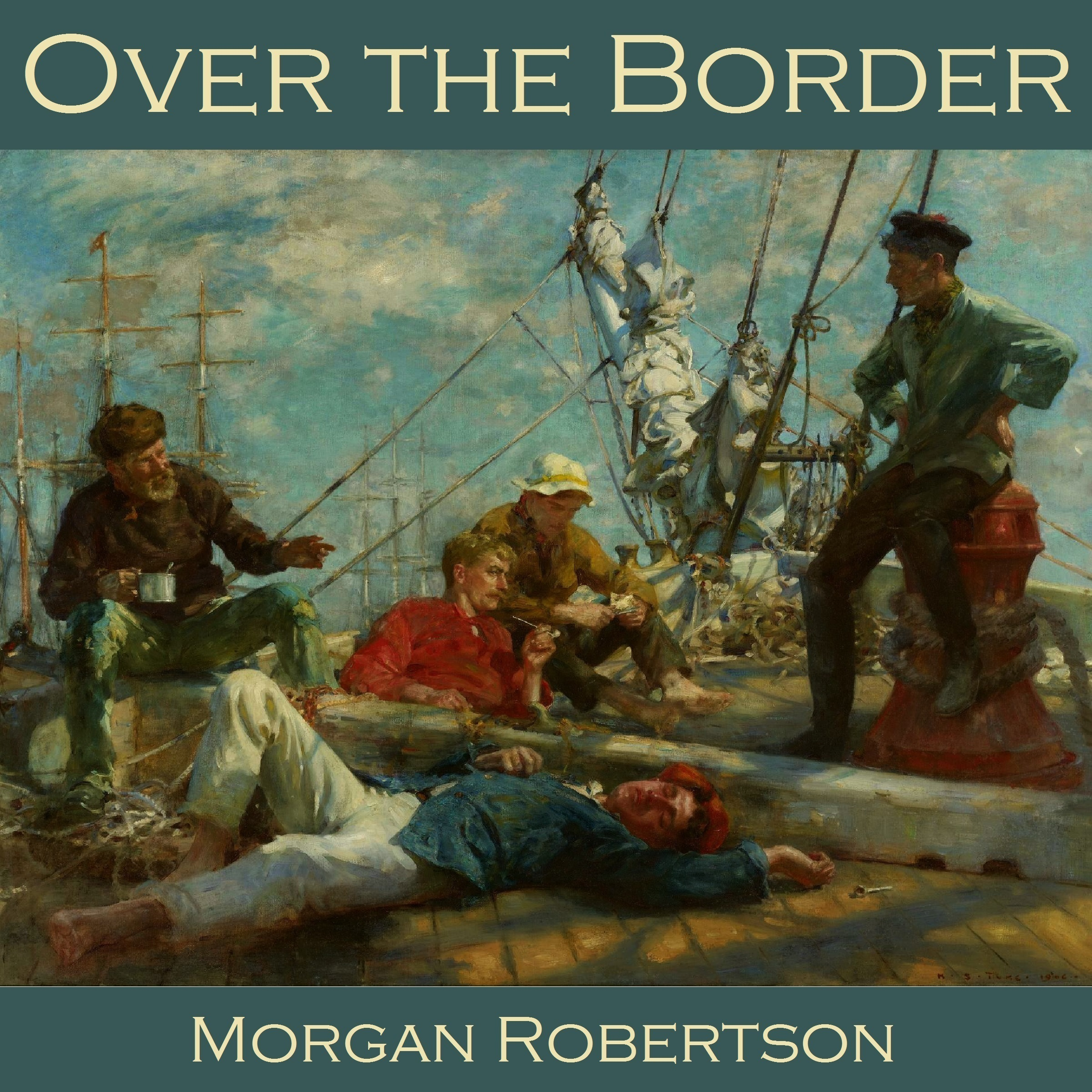 Printable Over the Border Audiobook Cover Art