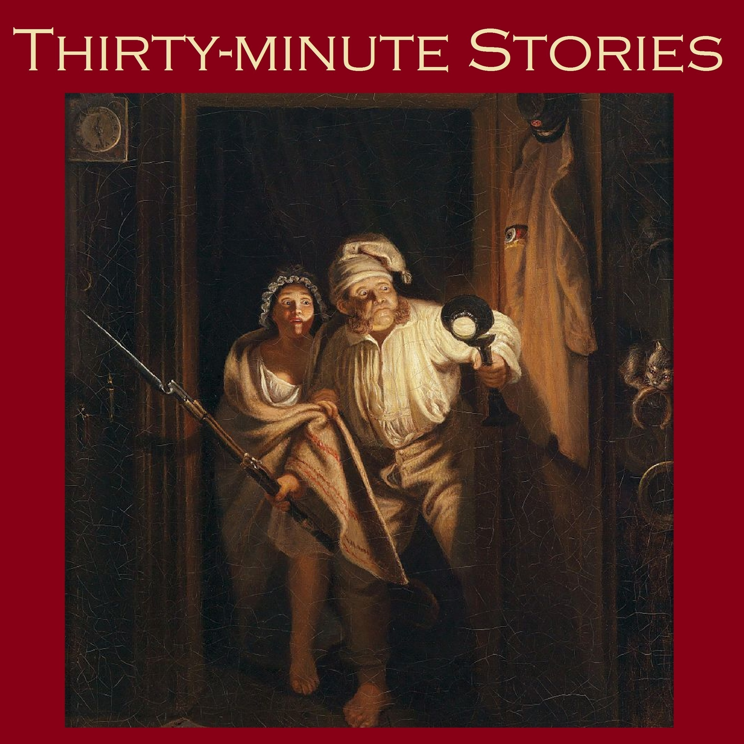Printable Thirty-Minute Stories: A Bumper Anthology of Great Classic Short Stories Audiobook Cover Art