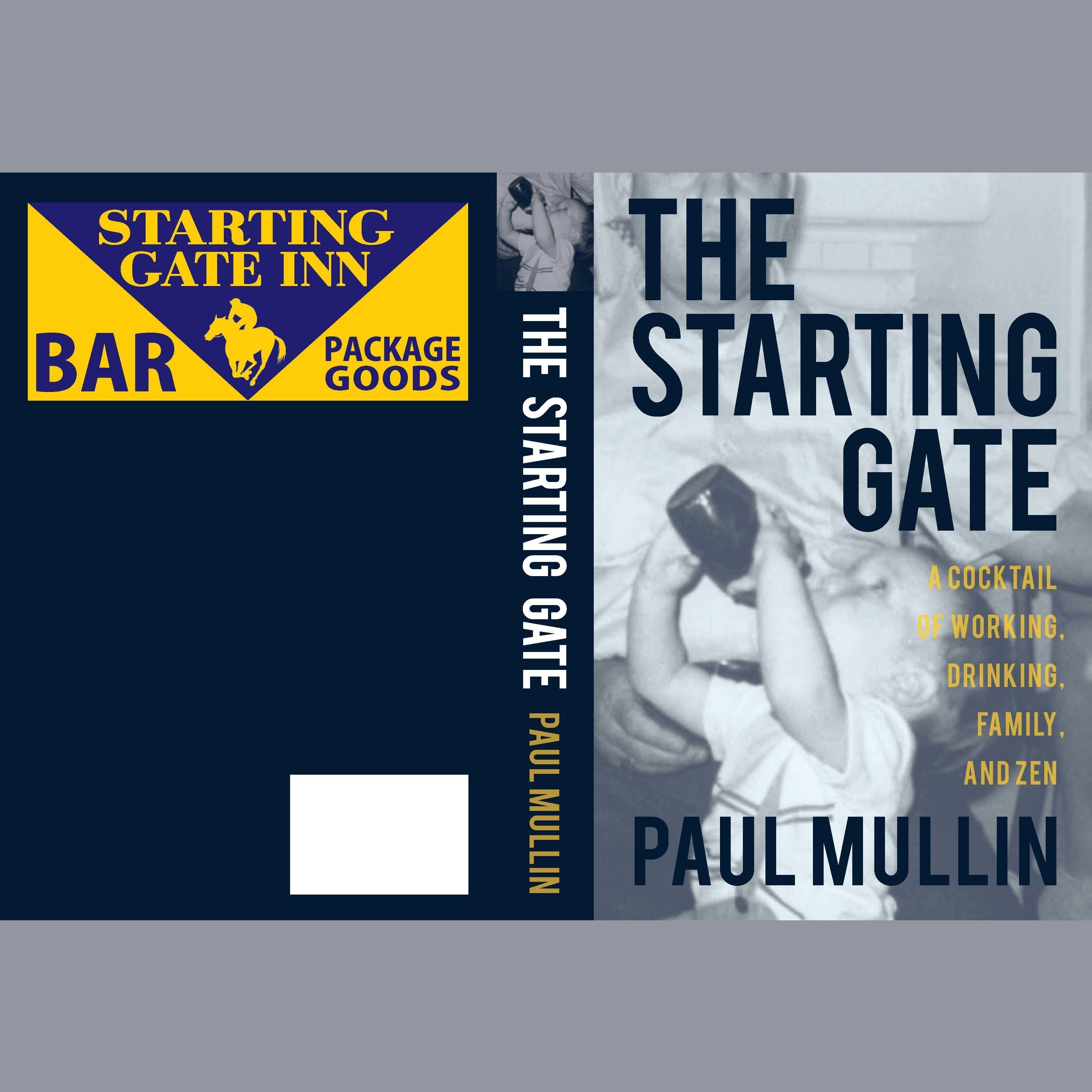 Printable The Starting Gate Audiobook Cover Art