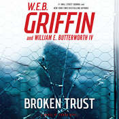 Broken Trust: A Badge of Honor Novel, by W. E. B. Griffin, William E. Butterworth
