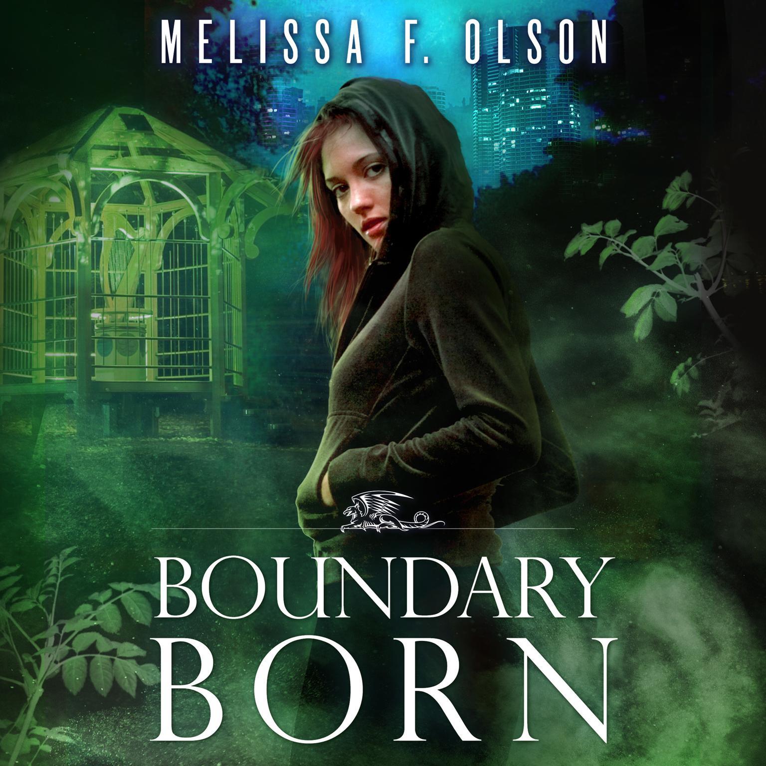 Printable Boundary Born Audiobook Cover Art