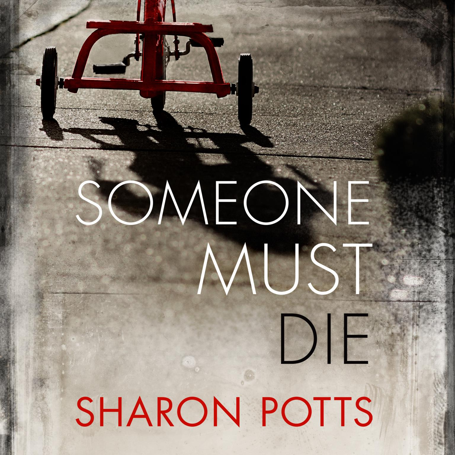 Printable Someone Must Die Audiobook Cover Art