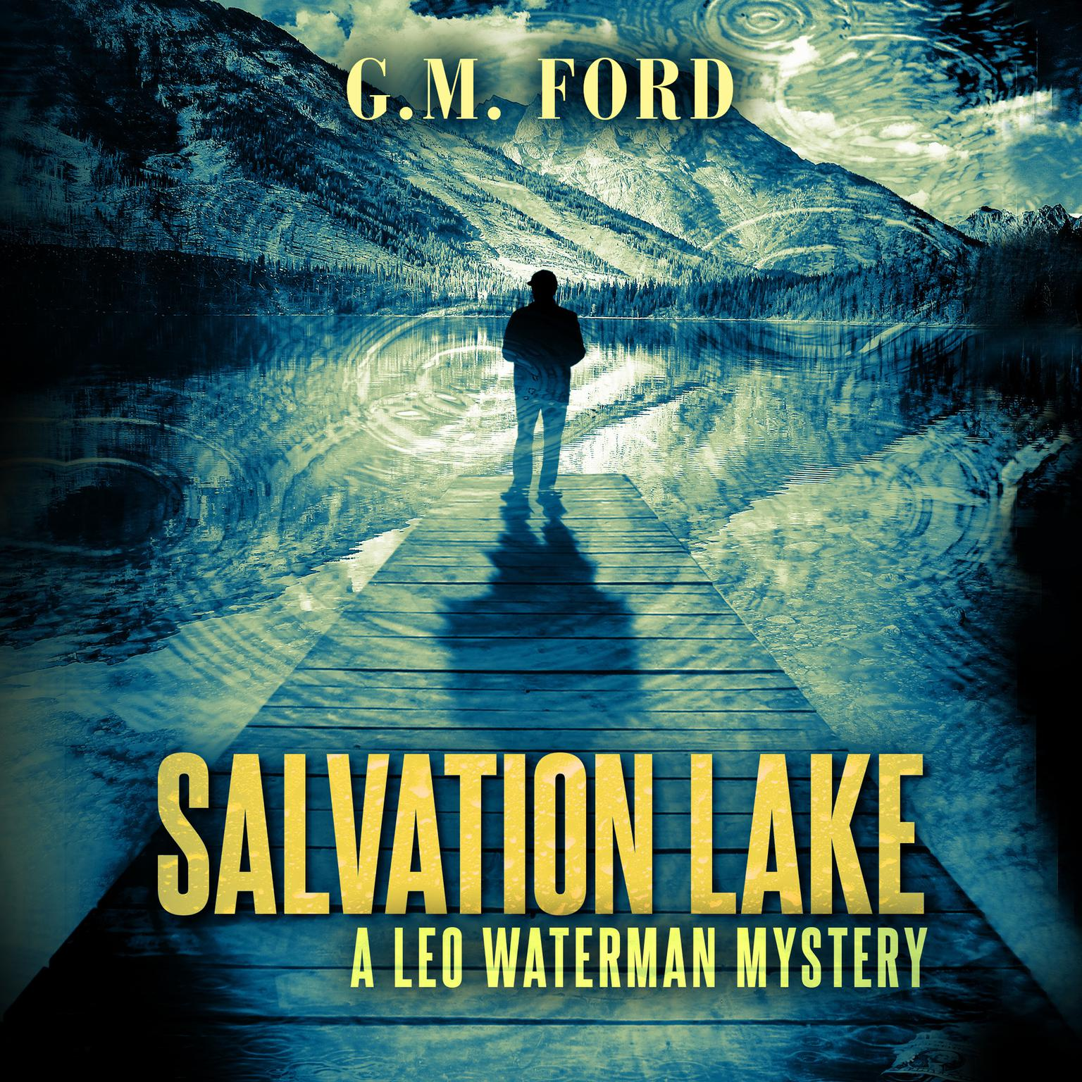 Printable Salvation Lake: A Leo Waterman Mystery Audiobook Cover Art