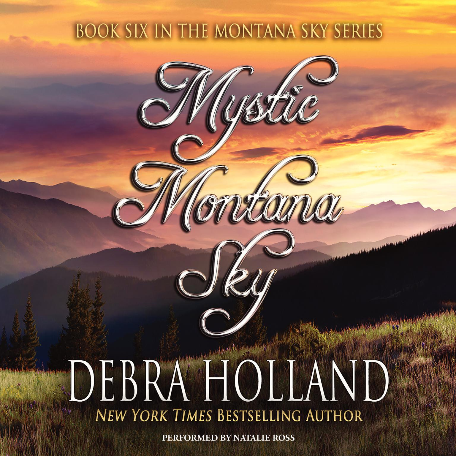 Printable Mystic Montana Sky Audiobook Cover Art
