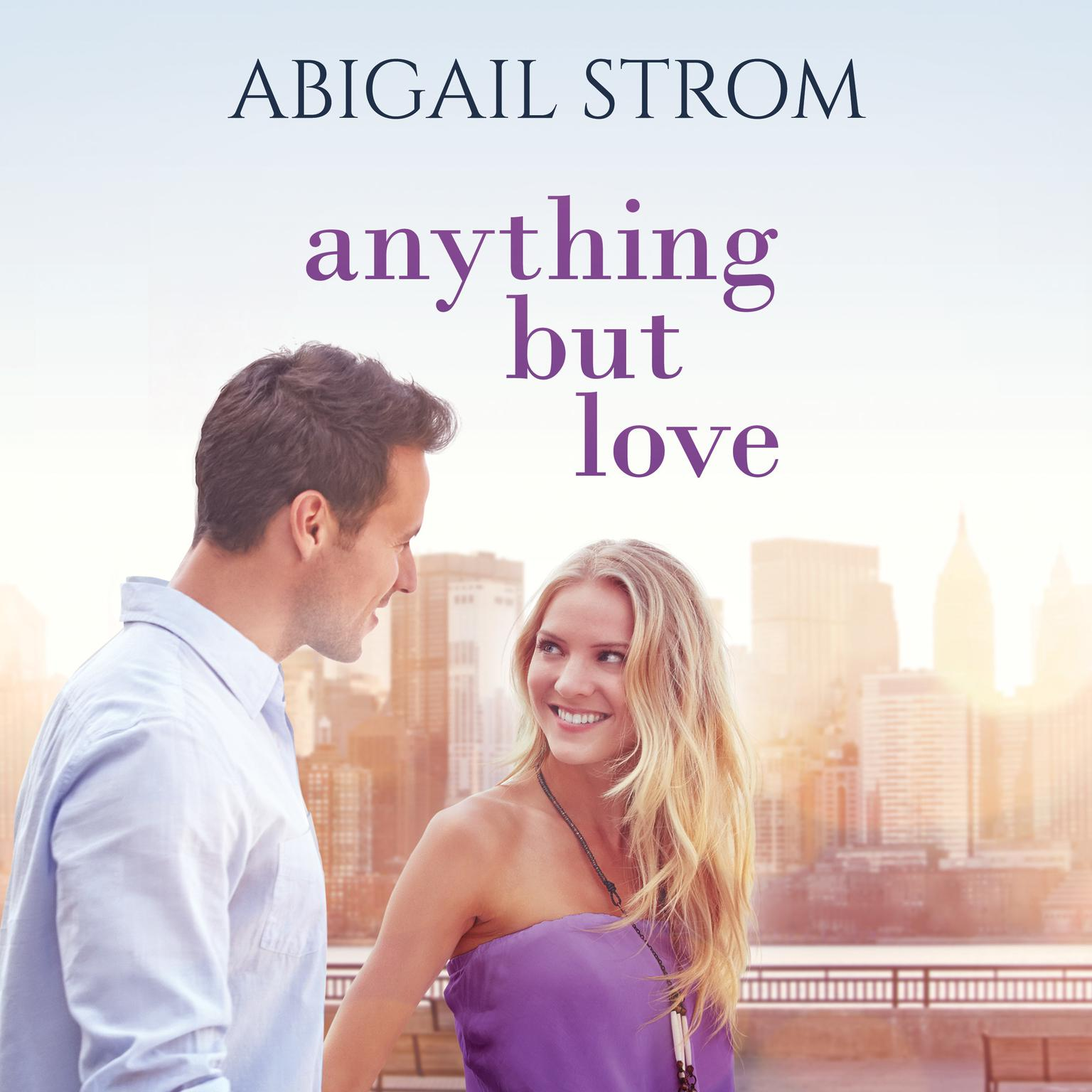 Printable Anything but Love Audiobook Cover Art