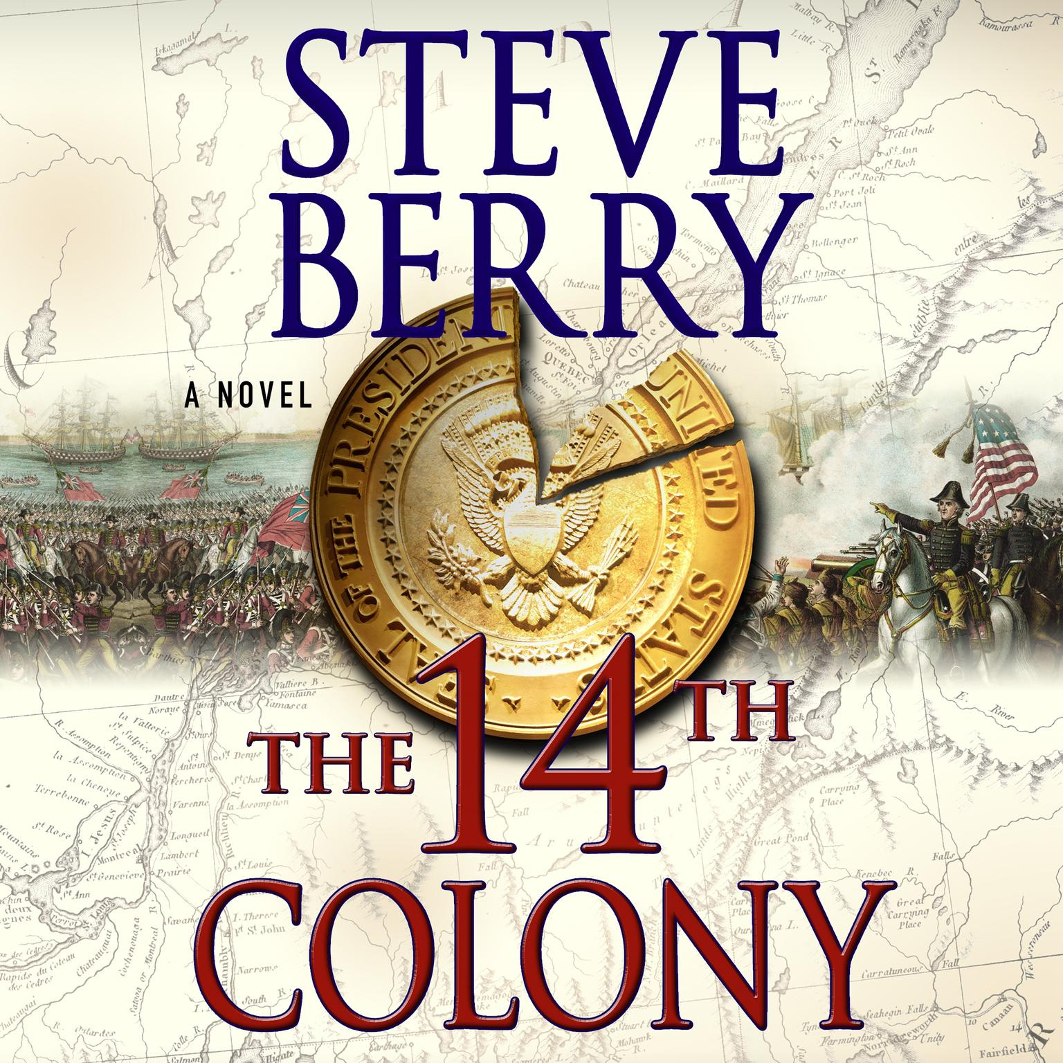 Printable The 14th Colony: A Novel Audiobook Cover Art