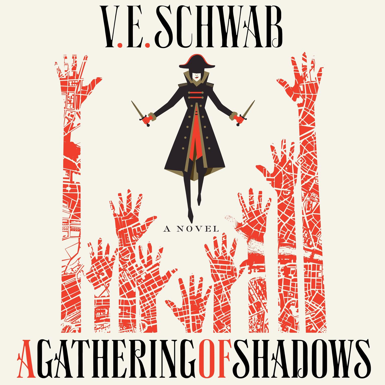 Printable A Gathering of Shadows: A Novel Audiobook Cover Art