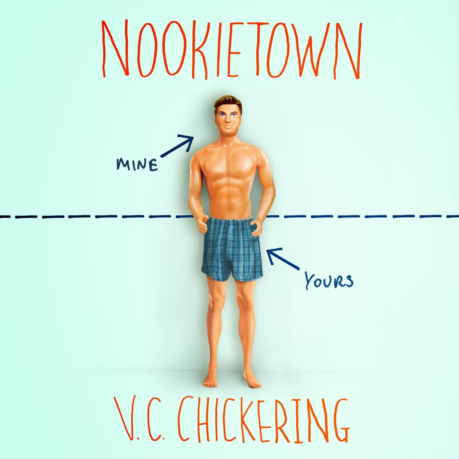 Printable Nookietown: A Novel Audiobook Cover Art