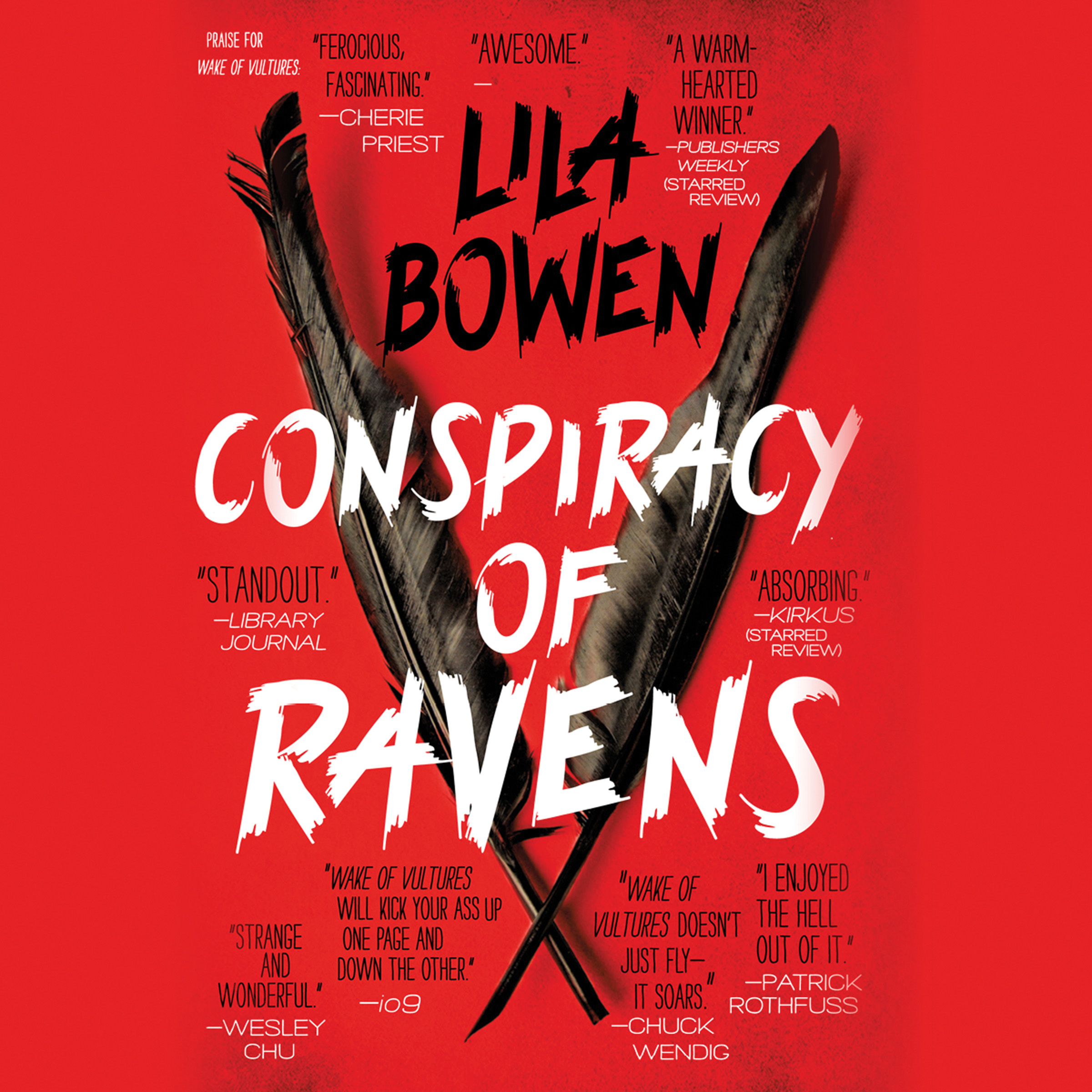 Printable Conspiracy of Ravens Audiobook Cover Art