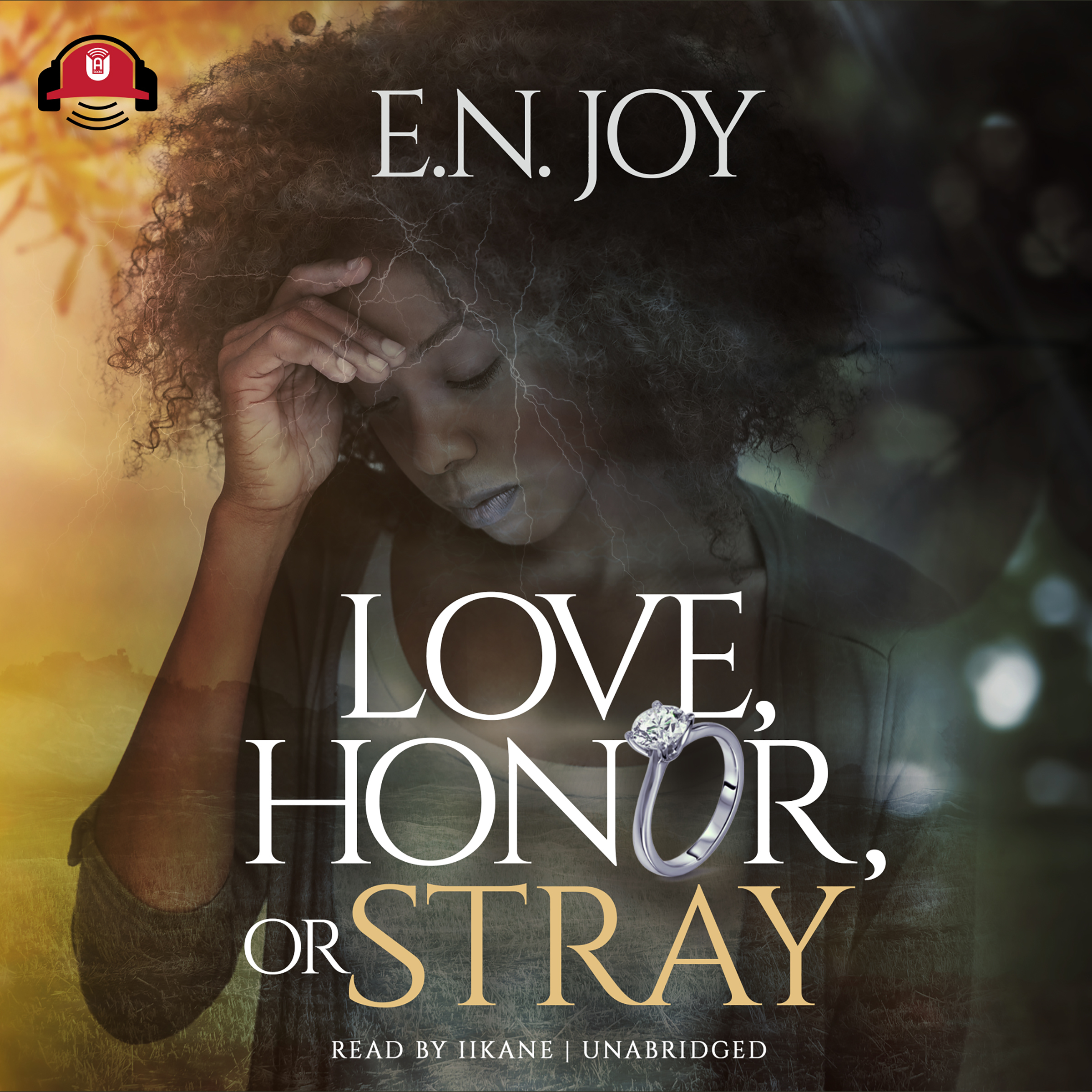 Printable Love, Honor, or Stray Audiobook Cover Art