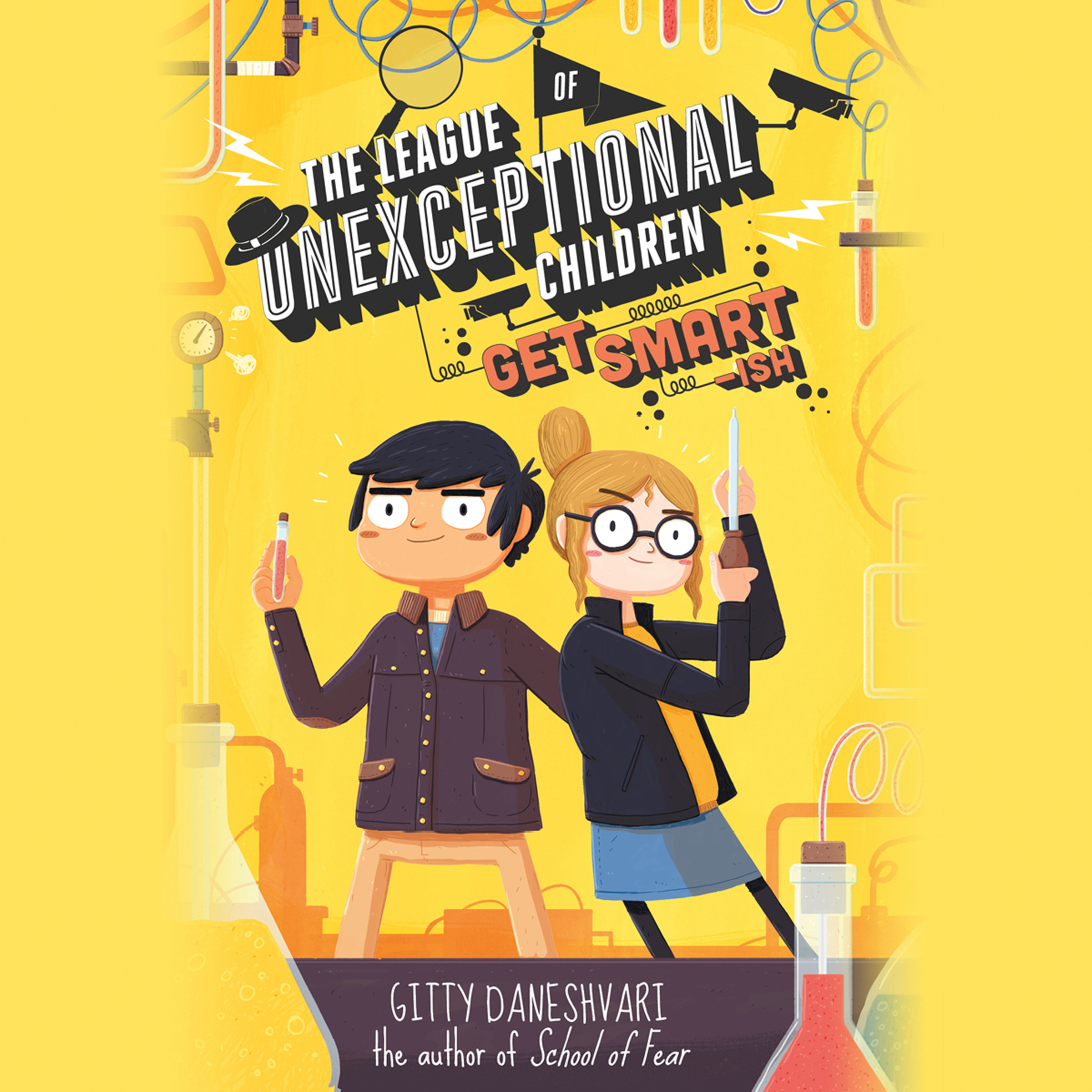 Printable The League of Unexceptional Children: Get Smart-ish Audiobook Cover Art