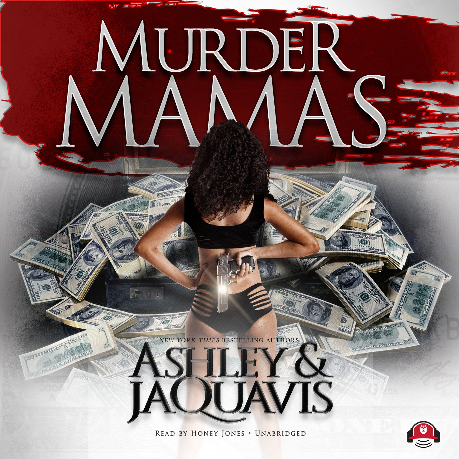Printable Murder Mamas Audiobook Cover Art