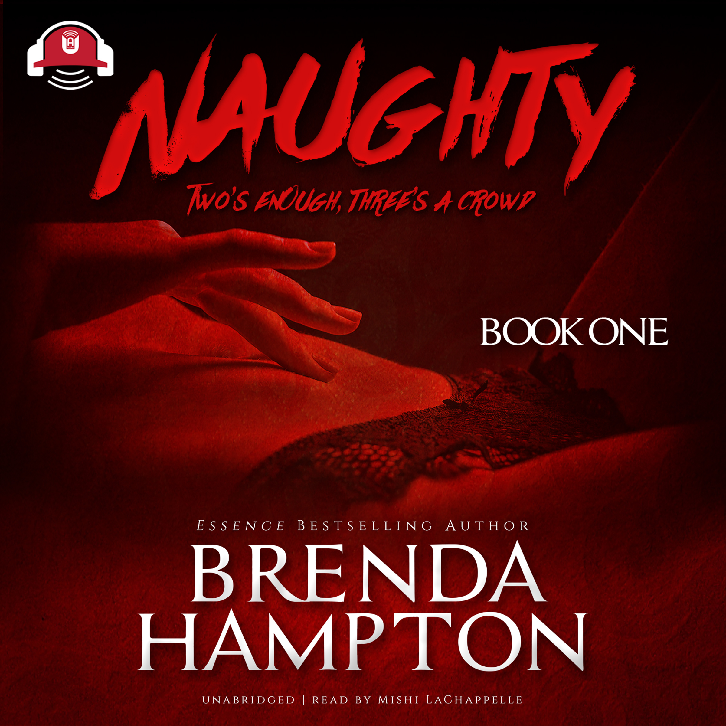 Printable Naughty: Two's Enough, Three's a Crowd Audiobook Cover Art