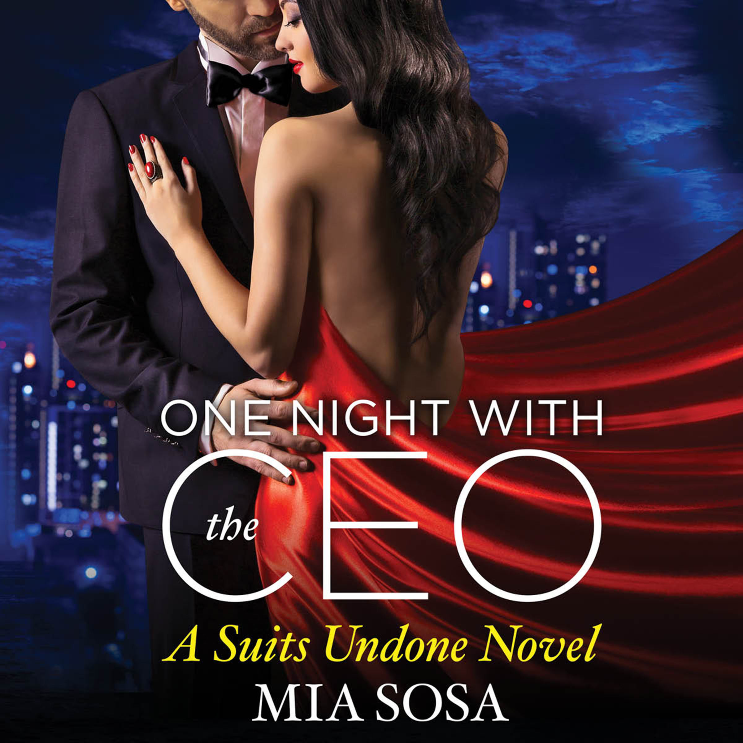 Printable One Night with the CEO Audiobook Cover Art