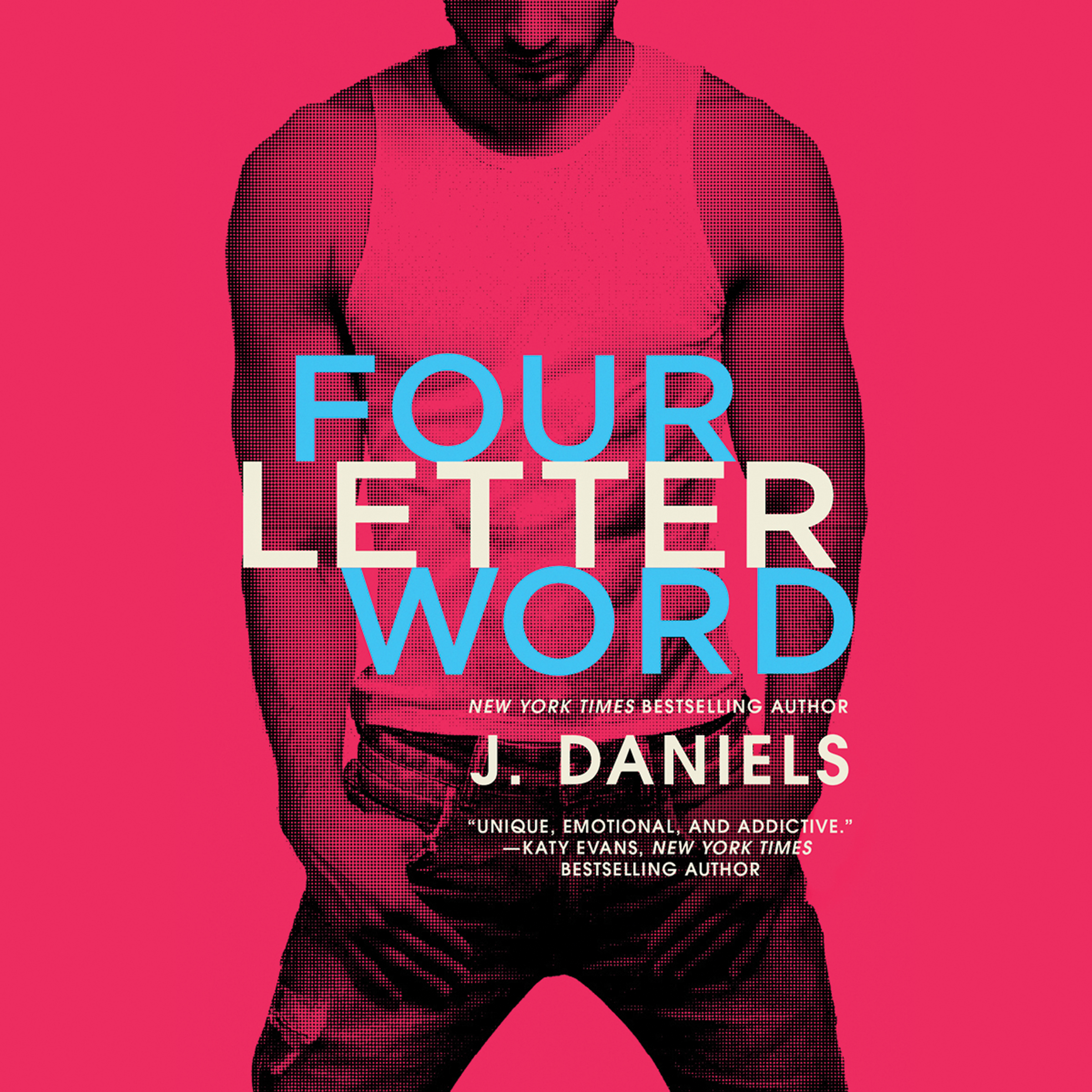 Printable Four Letter Word Audiobook Cover Art