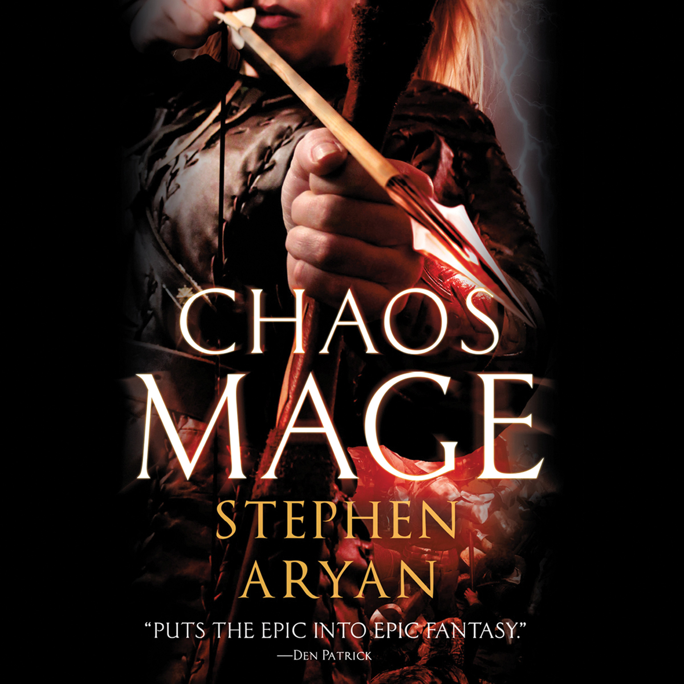 Printable Chaosmage Audiobook Cover Art
