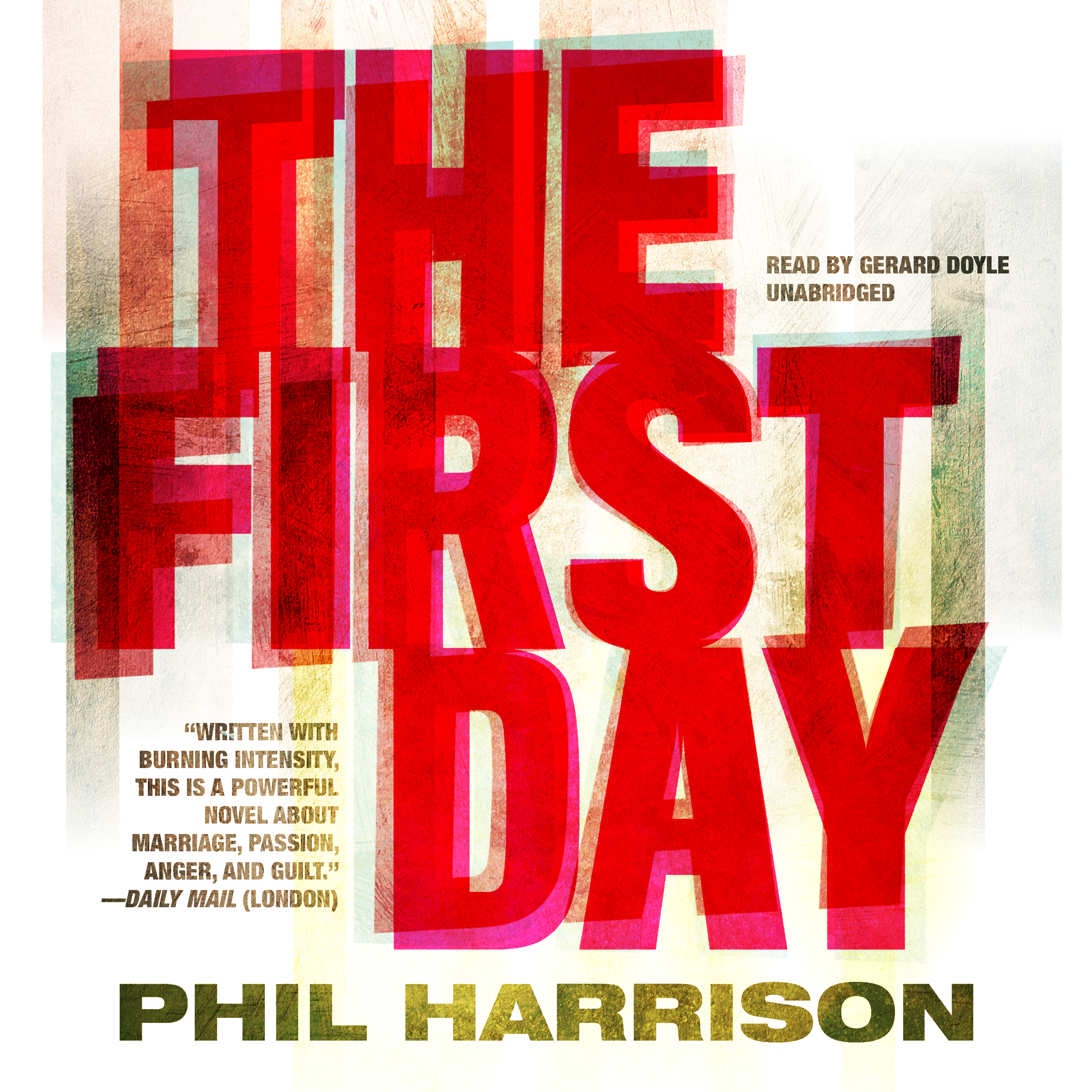 Printable The First Day Audiobook Cover Art