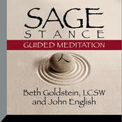 Sage Stance Guided Meditation Audiobook, by Beth Goldstein, John English