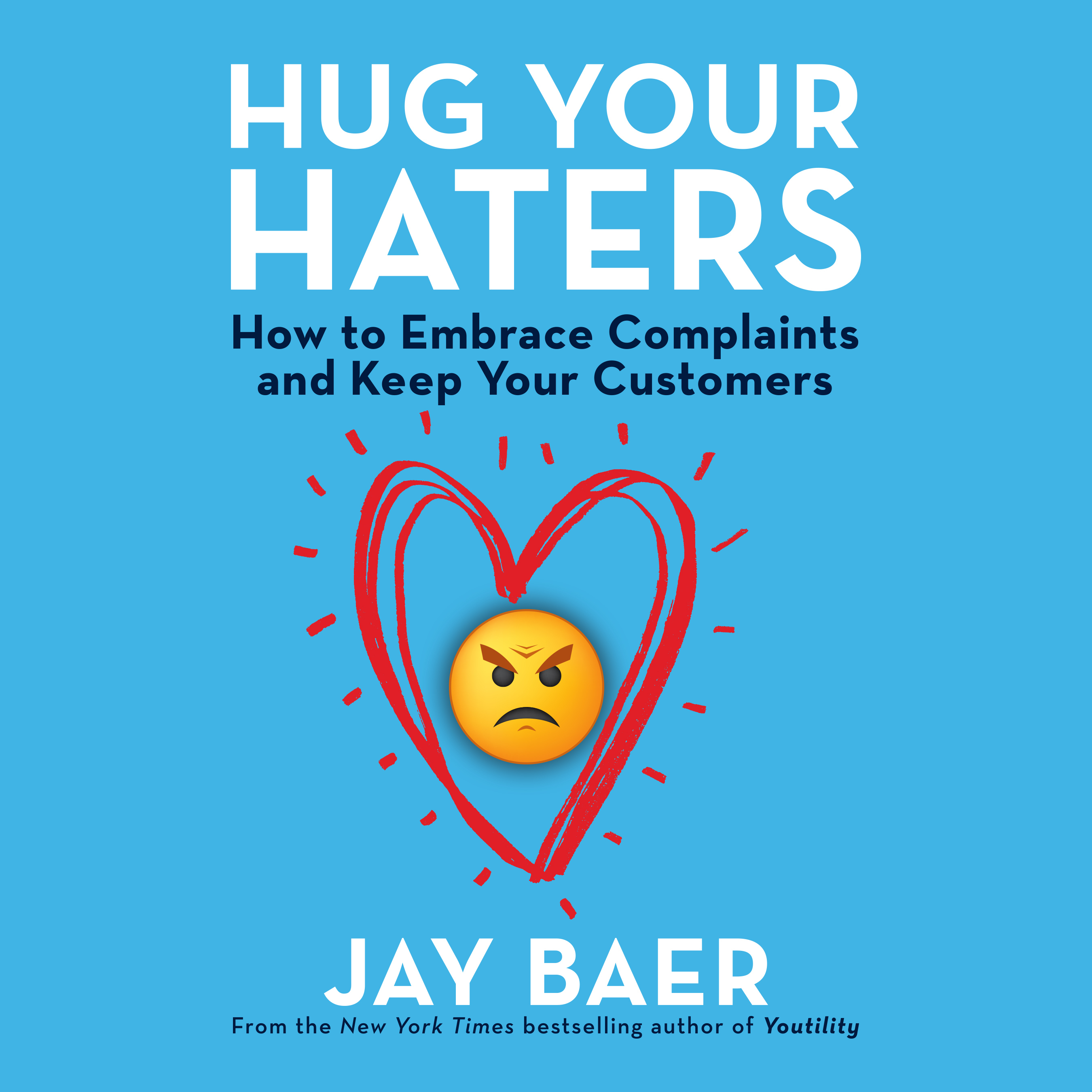 Printable Hug Your Haters: How to Embrace Complaints and Keep Your Customers Audiobook Cover Art