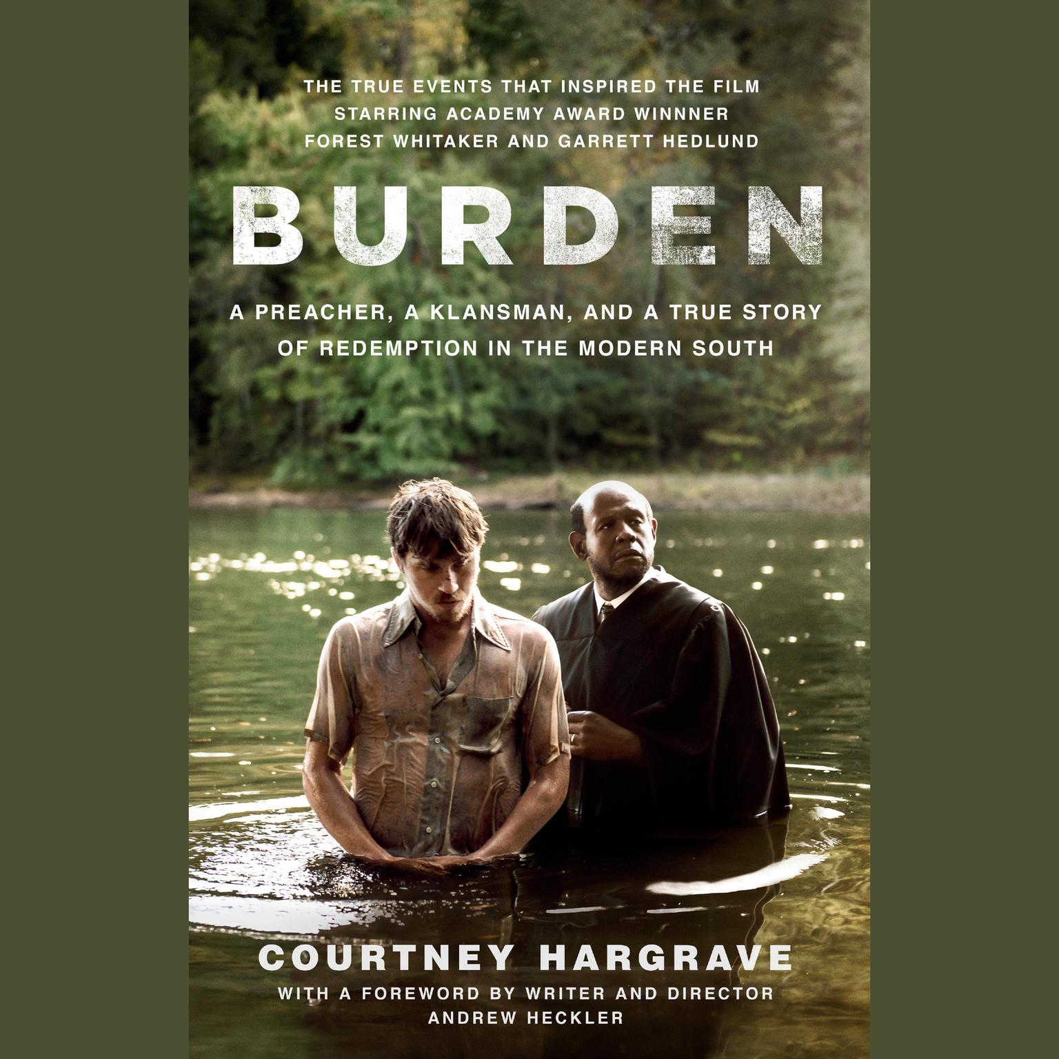 Printable Burden (Movie Tie-In Edition) Audiobook Cover Art