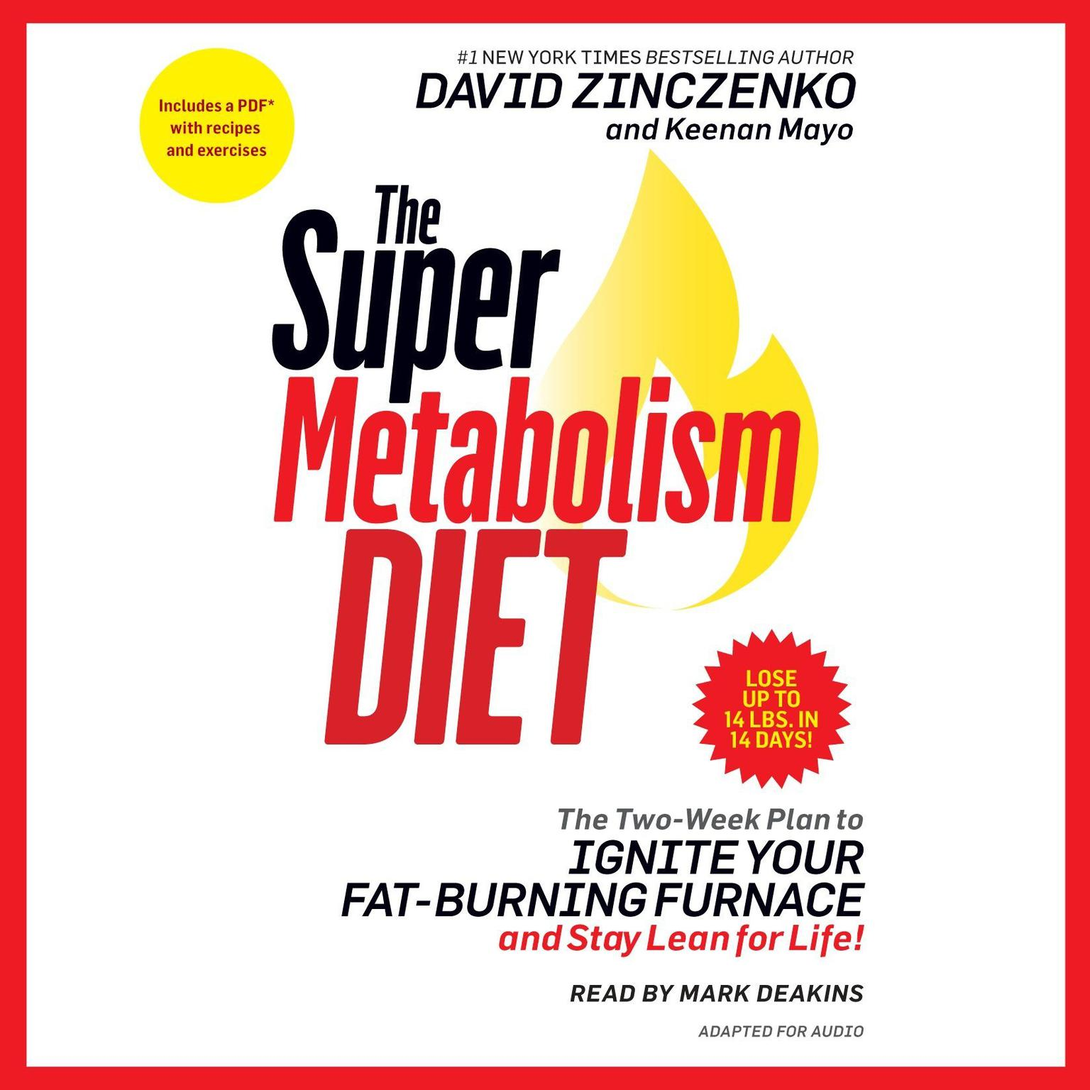 Printable The Super Metabolism Diet: The Two-Week Plan to Ignite Your Fat-Burning Furnace and Stay Lean for Life! Audiobook Cover Art
