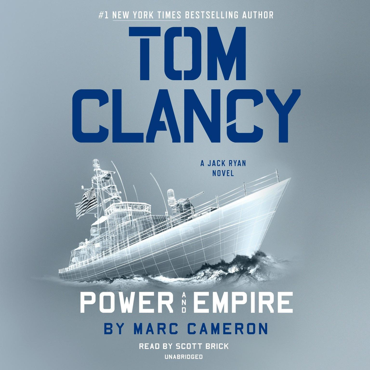 Printable Tom Clancy Power and Empire Audiobook Cover Art