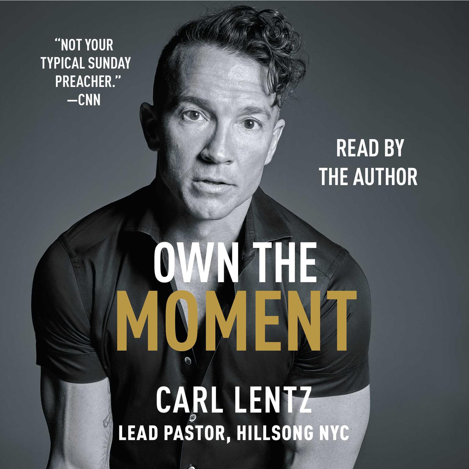 Printable Own The Moment Audiobook Cover Art