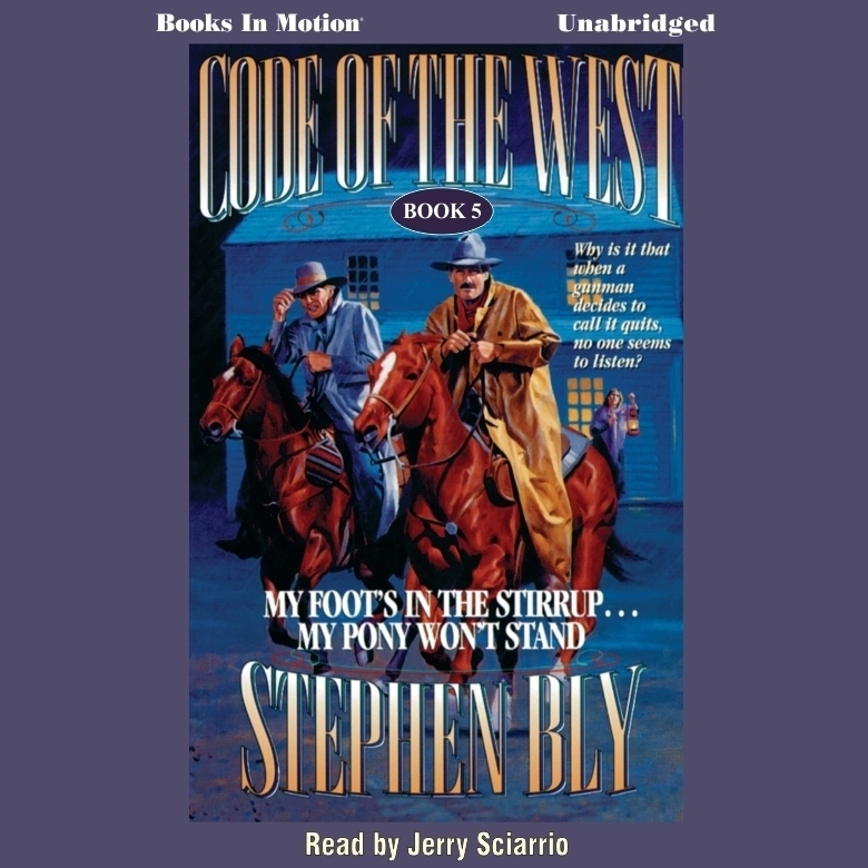 Printable My Foot's in the Stirrup..My Pony Won't Stand Audiobook Cover Art