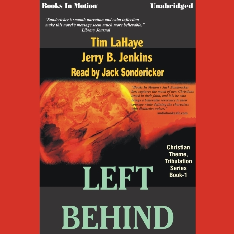 Printable Left Behind Audiobook Cover Art
