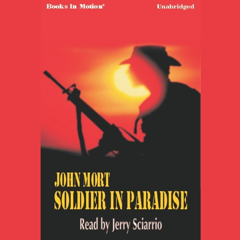 Printable Soldier in Paradise Audiobook Cover Art