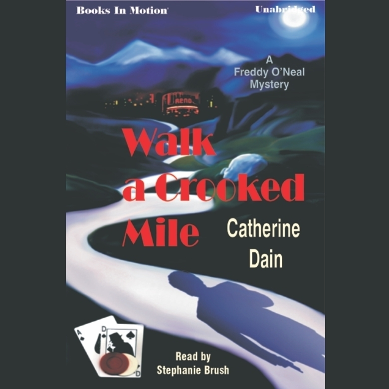 Printable Walk a Crooked Mile Audiobook Cover Art