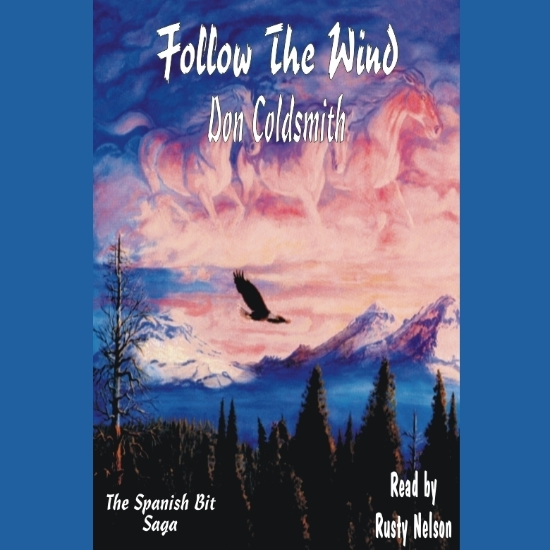 Printable Follow the Wind Audiobook Cover Art