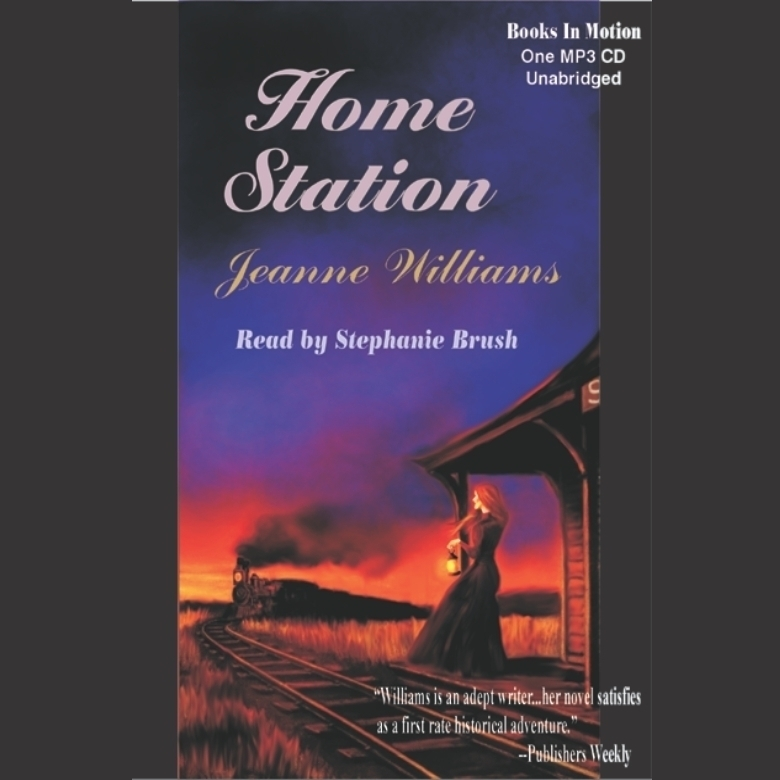 Printable Home Station Audiobook Cover Art