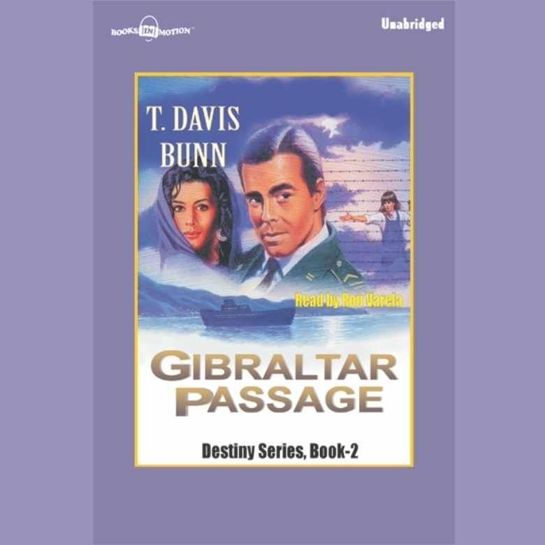 Printable Gibraltar Passage Audiobook Cover Art