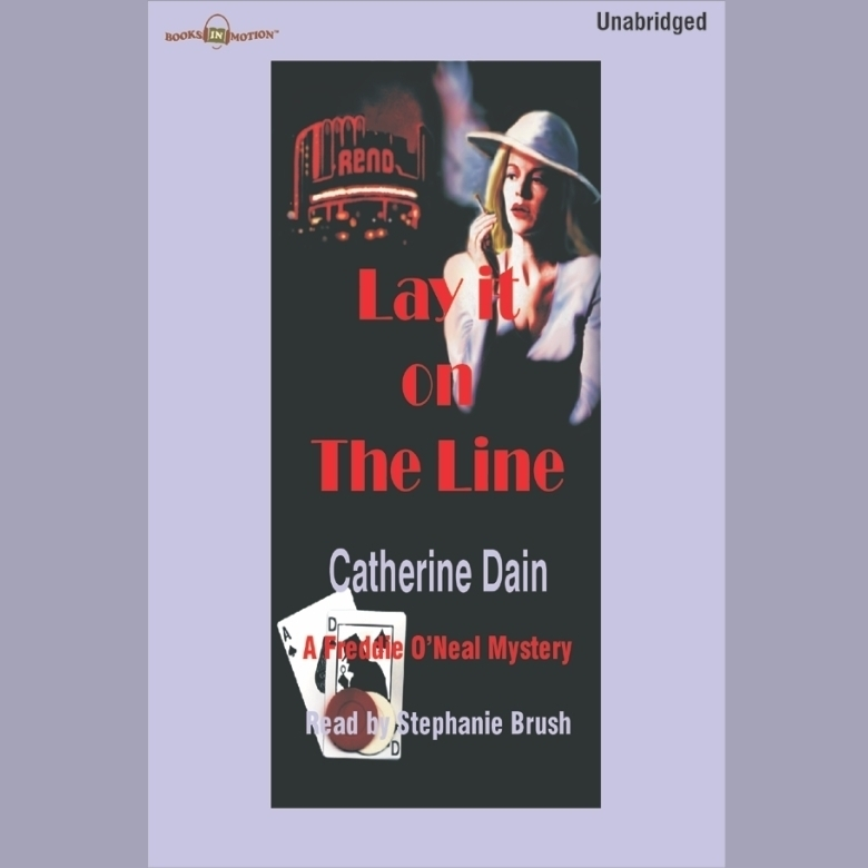Printable Lay it on the Line Audiobook Cover Art