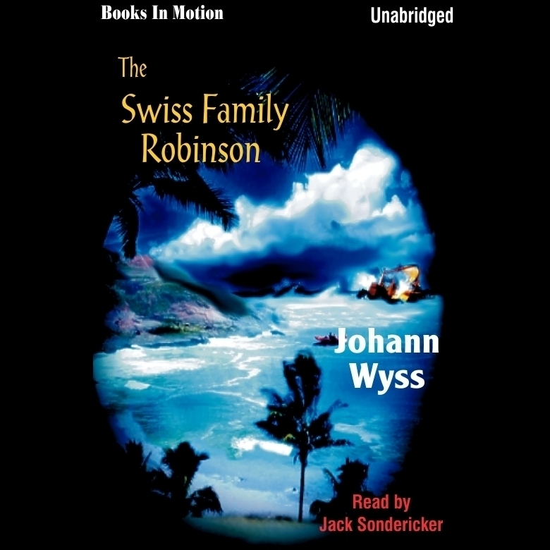 Printable Swiss Family Robinson Audiobook Cover Art