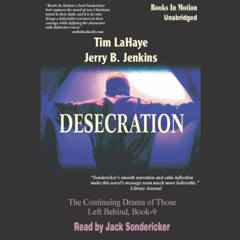 Printable Desecration Audiobook Cover Art