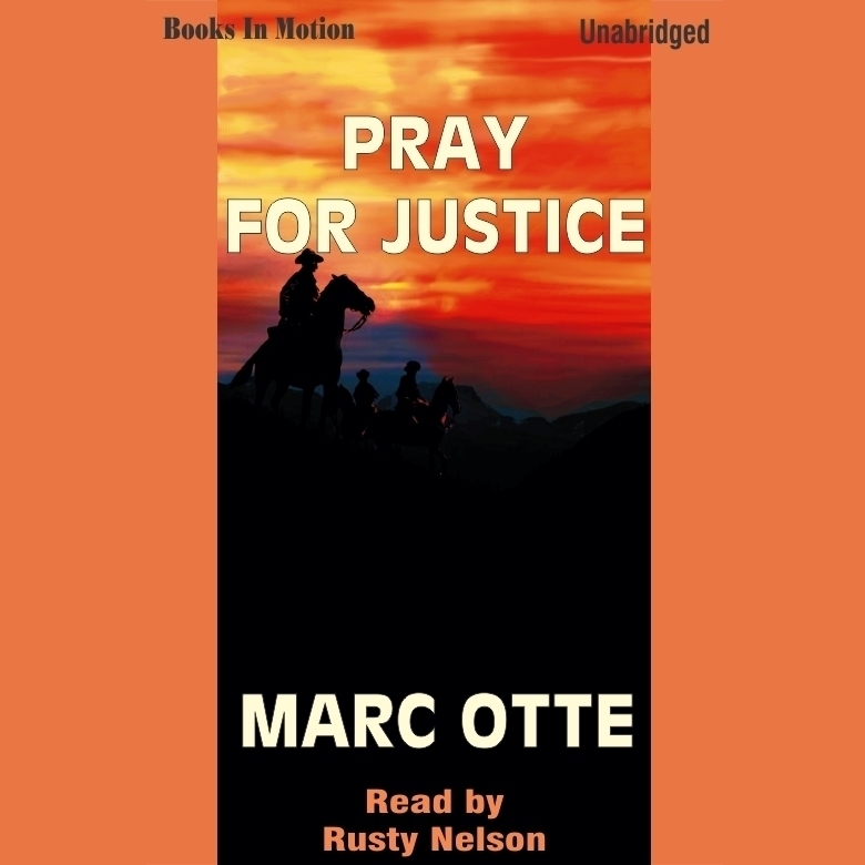 Printable Pray for Justice Audiobook Cover Art