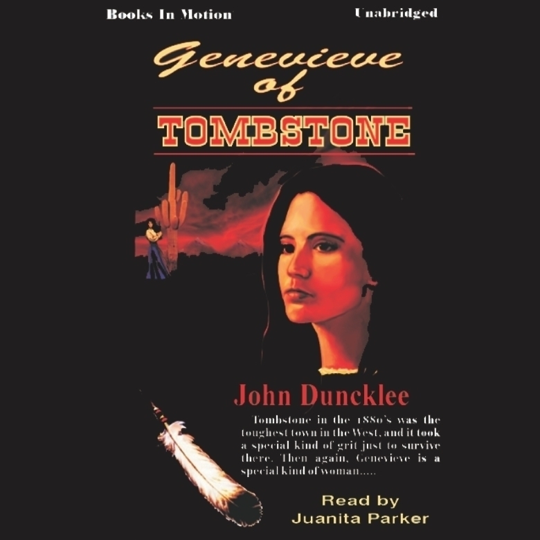 Printable Genevieve of Tombstone Audiobook Cover Art