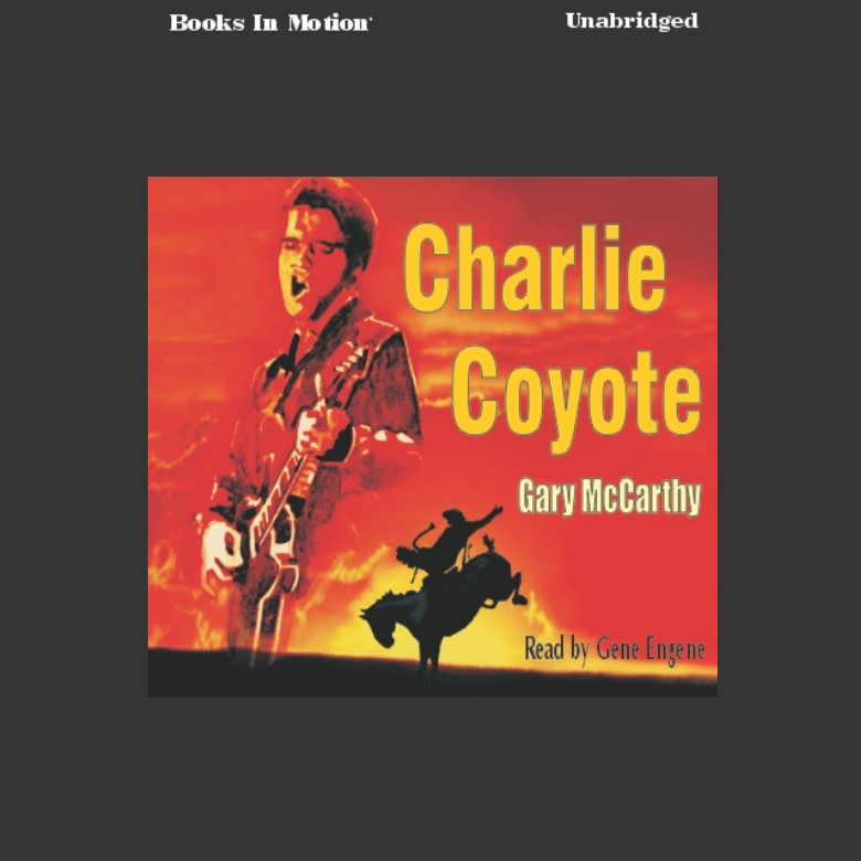 Printable Charlie Coyote Audiobook Cover Art