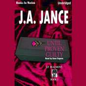 Until Proven Guilty Audiobook, by J. A. Jance
