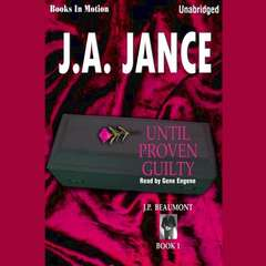 Until Proven Guilty Audiobook, by Author Info Added Soon