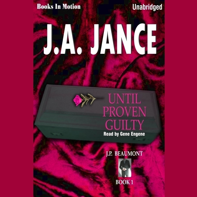 Printable Until Proven Guilty Audiobook Cover Art
